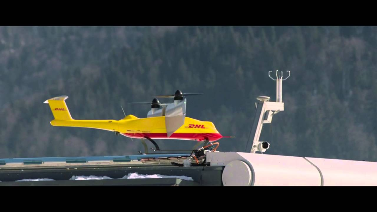 The Evolution of the DHL Parcelcopter