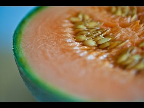 The Sexy Fruits ~ Episode 2 - Honeydew Melon and Beautiful Seeds