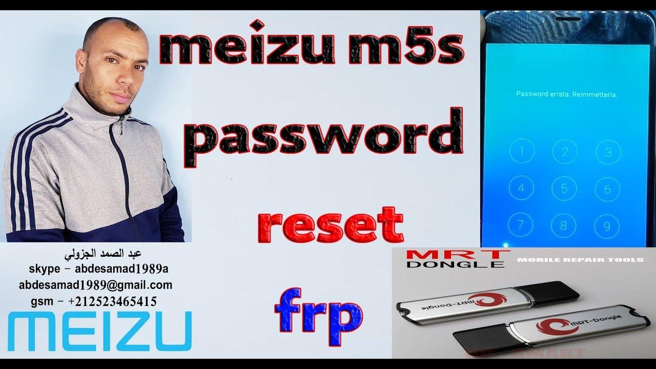 Meizu M5s Hard ResetPattern password reset frp bypass google account