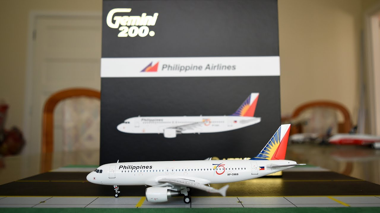 Gemini Jets 1:200 Philippine Airlines A320 Unboxing and Review