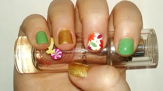 Fall Leaf Nail Art Tutorial | Samantha Beauty Thumbnail