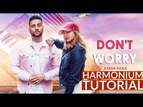 Don't worry || Karan Ahujla || Easy Harmonium Tutorial || Music Guru thumbnail