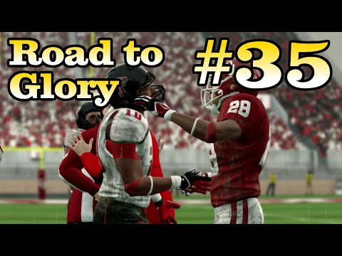 RTG: Week 12 Vs. Texas Tech [Season 3] NCAA Football 14: Road To Glory
