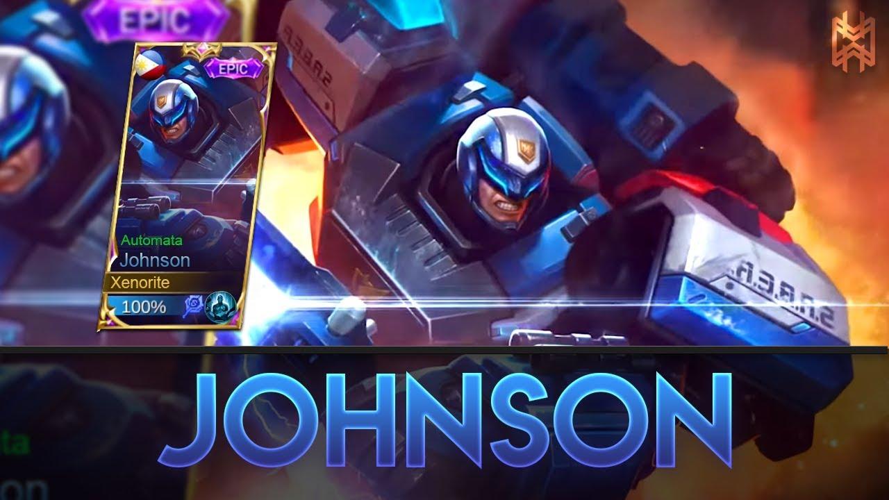 Hasil gambar untuk johnson ML epic