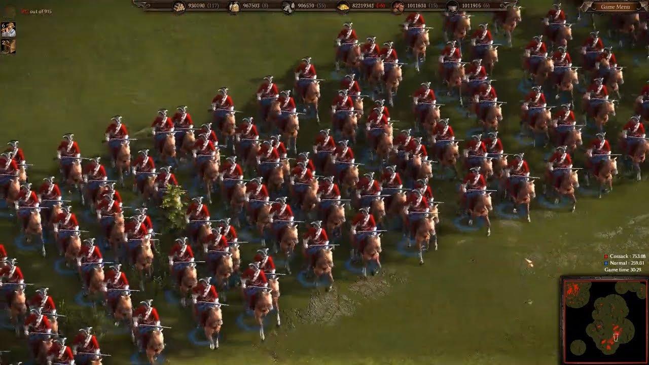 Cossacks 3 ☑️ Chiến Tranh Châu Âu, Game cổ mà hay ✔️01