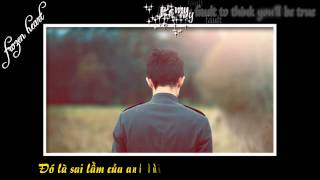 [HD Lyrics] Just A Fool - Christina Aguilera ft. Blake Shelton {Kara + Vietsub}
