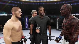 Хабиб Vs Спаун ( Хабиб Нурмагомедов против Исчадие Ада ) UFC2 .Добро или Зло.