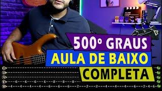 500 Graus - Cassiane ( Aula de Baixo Completa) Levada e Groove