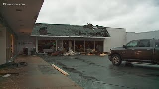 Confirmed Tornado Hits Suffolk During Tropical Storm Isaias