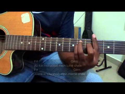 #GuitarLessons@Dinos: Creature 3D - Hum na rahe hum (Full Guitar chords Lesson/Tutorial)