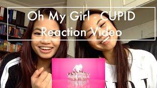 Video Oh My Girl - CUPID Reaction Video download MP3, 3GP, MP4, WEBM, AVI, FLV Juni 2018