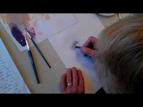 Draw the human eye in one minute with Bill McSwain