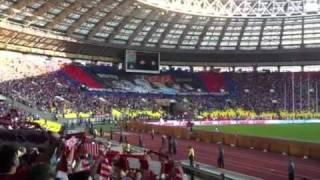 Банеры ЦСКА и Спартака(Дерби 28.8.2011., 2012-10-14T17:48:43.000Z)