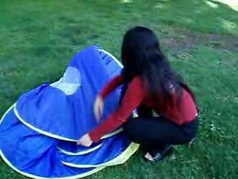 A2 Tent Folding Instruction Youtube