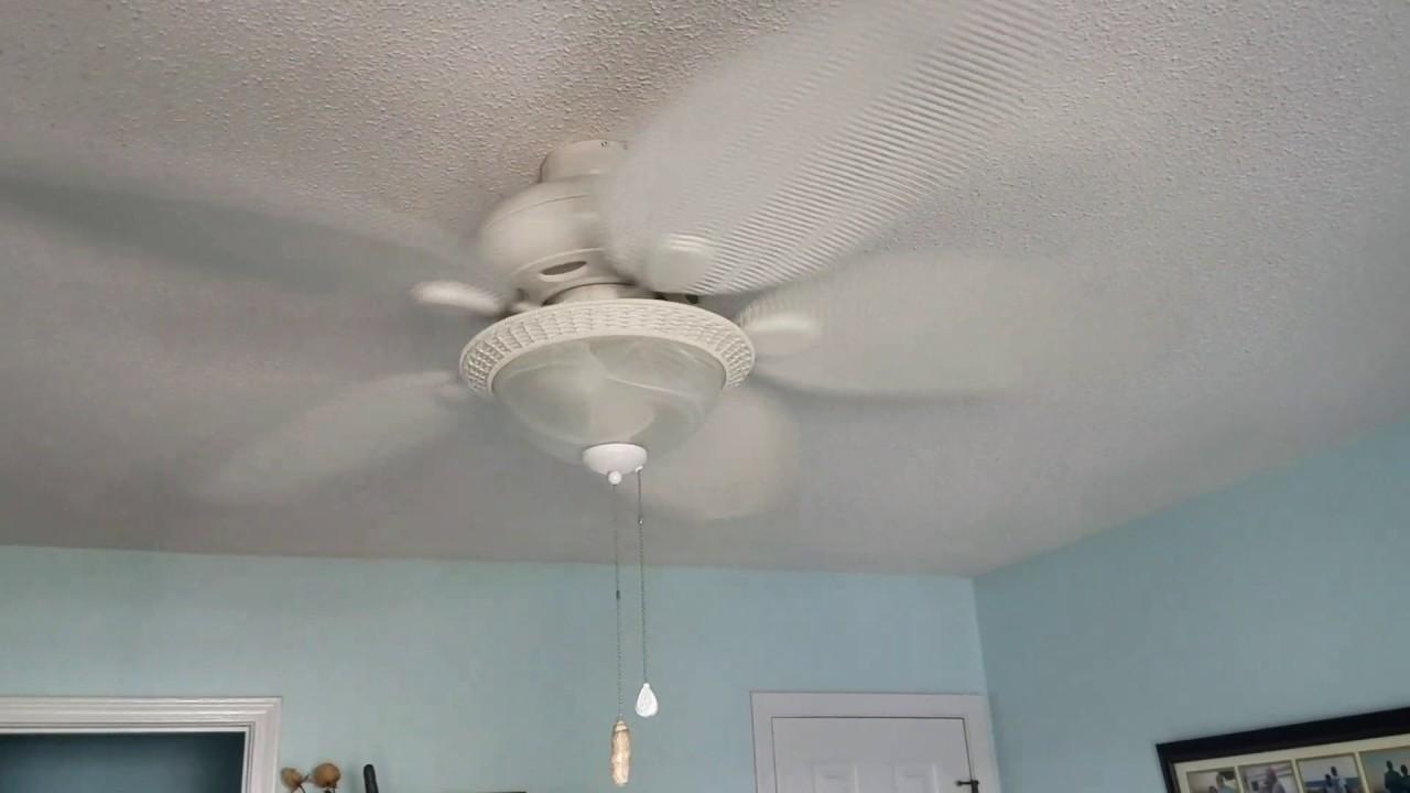 Harbor breeze 52 tilghman ceiling fan w light youtube harbor breeze 52 tilghman ceiling fan w light aloadofball Gallery
