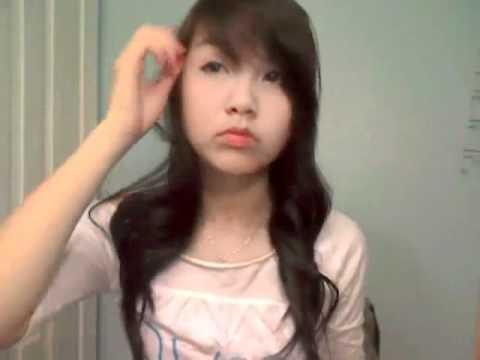 Dạy tạo kiểu tóc Hàn Quốc đơn giản - www.viethairhua.com