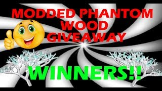 Lumber Tycoon 2: MODDED PHANTOM WOOD GIVEAWAY WINNERS!! | Roblox