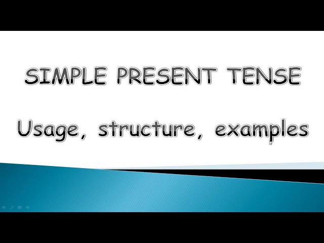 Simple Present Tense - Basic English Grammar