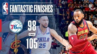 The 76ers and Cavaliers Grind It Out in a Close One | December 9, 2017 thumbnail