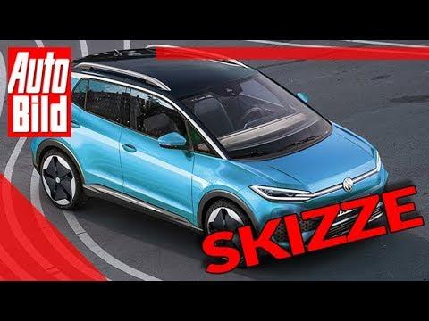 VW ID.2 X (2020): Elektro-SUV - Allrad - Skizze - Insider - Zukunft