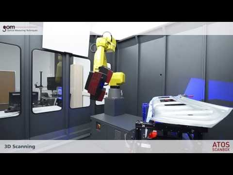 ATOS ScanBox Trunk Lid Sheet Metal 3D Scanning & Inspection Automation