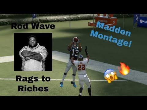 """Madden Montage – """"Rags to Riches"""" (Rod Wave)"""