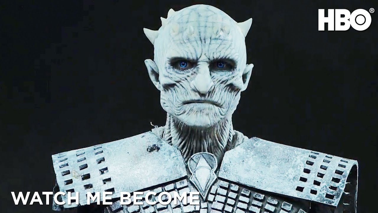 'Game of Thrones' Night King Halloween Makeup Tutorial