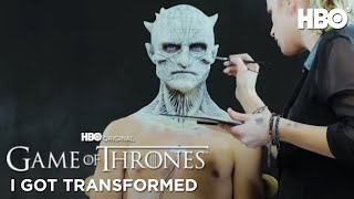 Game of Thrones Night King Halloween Makeup Tutorial | #WatchMeBecome | HBO