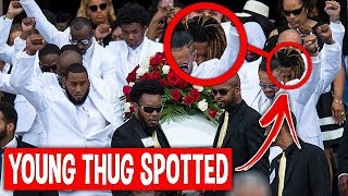 Leaked Footage From Juice Wrld Funeral Will Shock You...