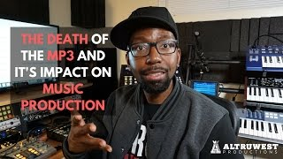 the death of the mp3 and its impact on music production