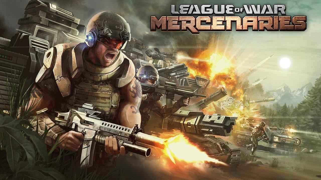 league of war mercenaries gameplay ios android youtube