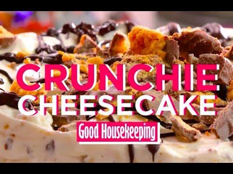 Crunchie Cheesecake Recipe | Good Housekeeping UK