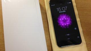 iPhone6がauオンラインショップから届きました!開封レビュー動画