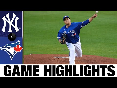 Vlad Guerrero Jr.'s Homer Leads Blue Jays To Playoffs   Yankees-Blue Jays Game Highlights 9/24/20