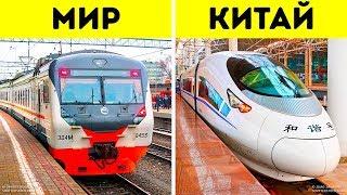 Вот почему Китай – номер один по скоростным железным дорогам