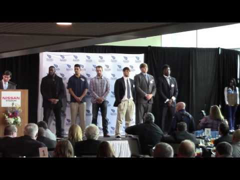 2015 Mr. Football Presentation for Class 4A