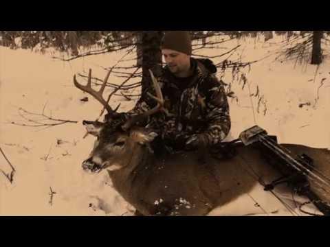 Upper Peninsula Michigan December Bow Buck with Josh Stein