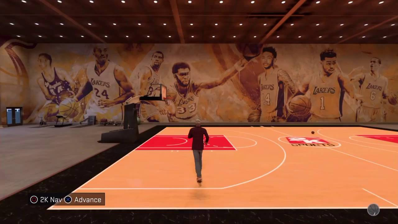 Nba 2k17 my court lakers mural youtube nba 2k17 my court lakers mural amipublicfo Choice Image