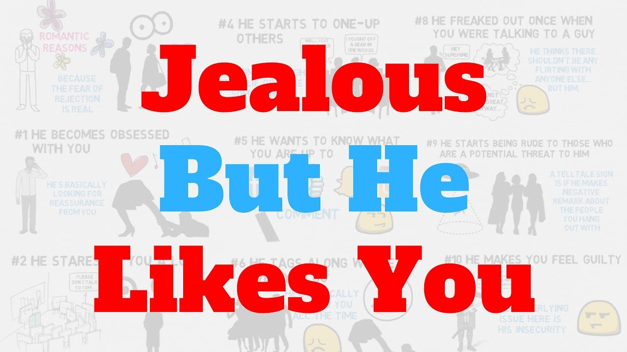 10 Signs A Guy Is Jealous And Likes You | True Medallion