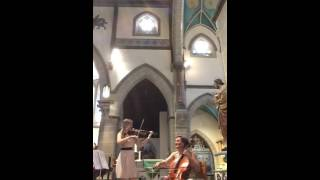 1000 Years - Beaux Strings violin and cello cover