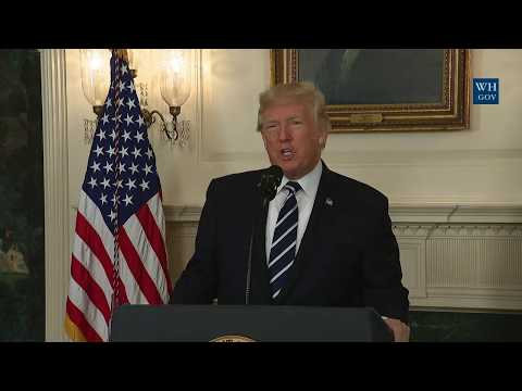 President Trump Gives Remarks