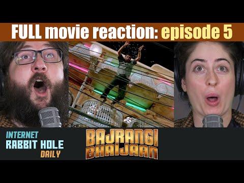 Bajrangi Bhaijaan | HINDI | FULL MOVIE REACTION SERIES | irh daily | EPISODE 5