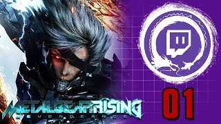 METAL GEAR RISING: REVENGEANCE | Metal Gear Saga Part 38: RULES OF NATURE! | Stream Four Star