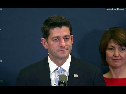 Speaker Ryan. News Conference. Republican House Leaders. Nov. 15. 2016.