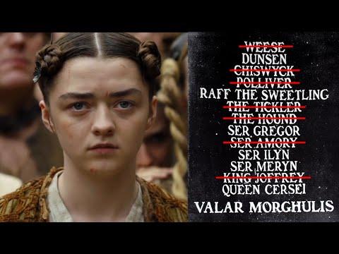 Arya Starks Liste