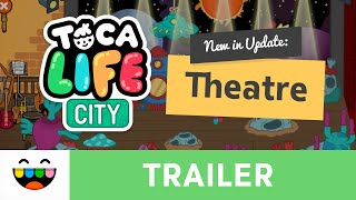 Location Update | The Theatre | Toca Life: City | @TocaBoca