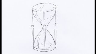How To Draw an Hourglass