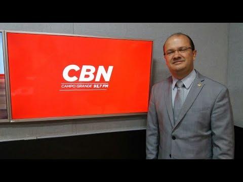 Entrevista CBN Campo Grande: José Carlos Barbosa, deputado estadual