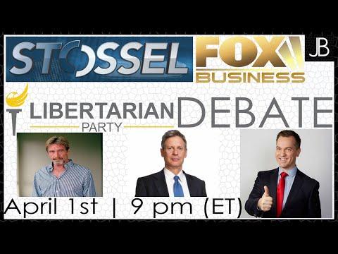 Fox Business Libertarian Presidential Debate with John Stossel