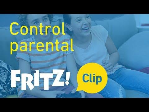 FRITZ! Clip – Determinar el tiempo en línea con el control parental